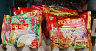 instant noodle in nepal