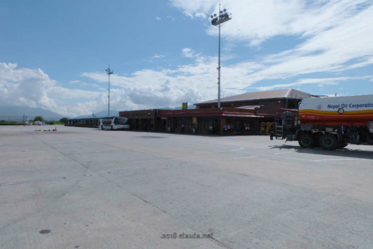 tribhuvan airpor view