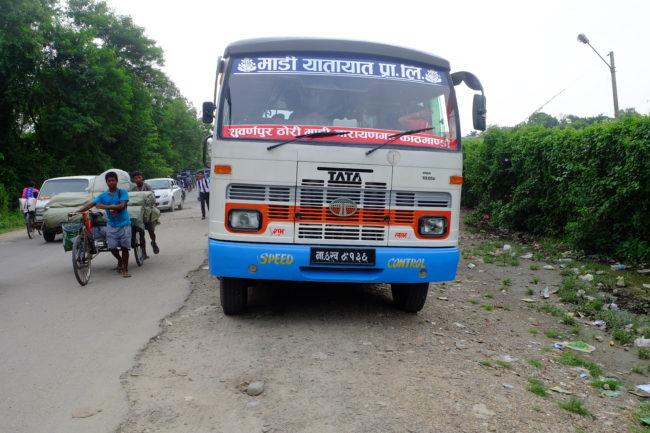 bus to Madi
